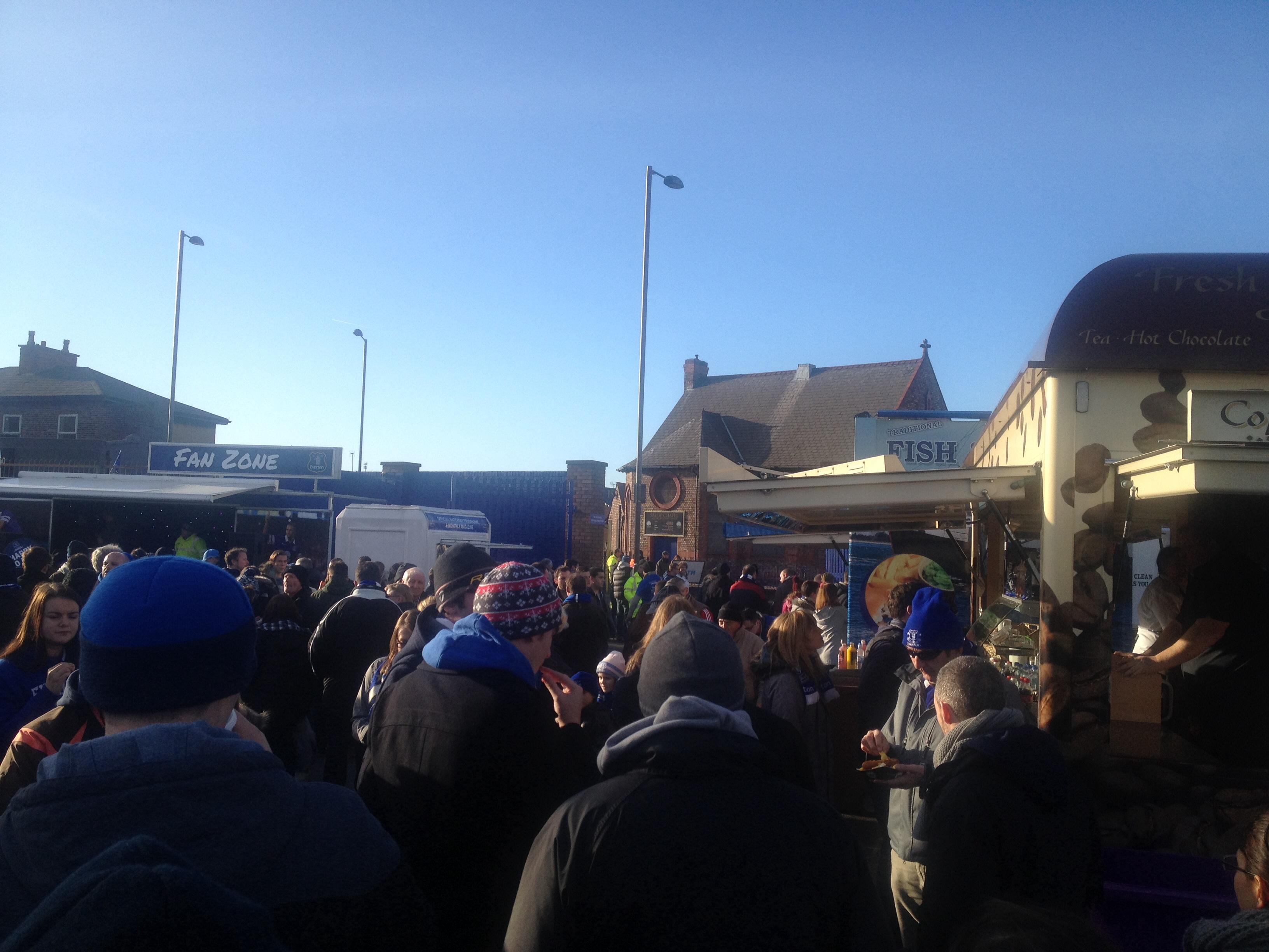 Everton Fan Zone