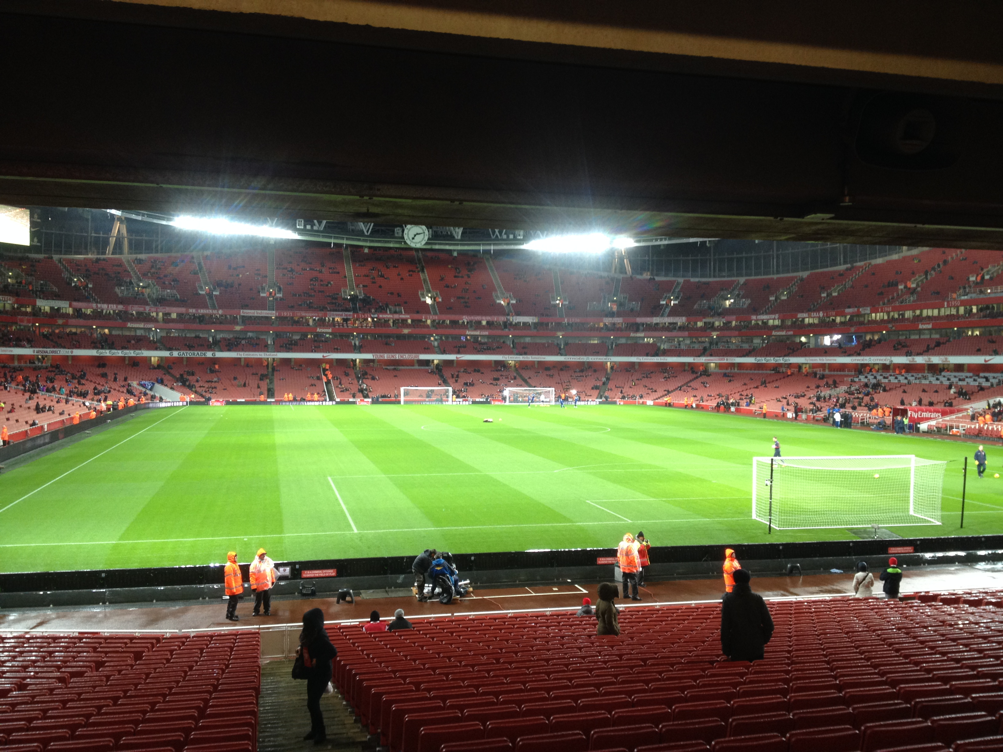 Emirates Stadium Ground Level