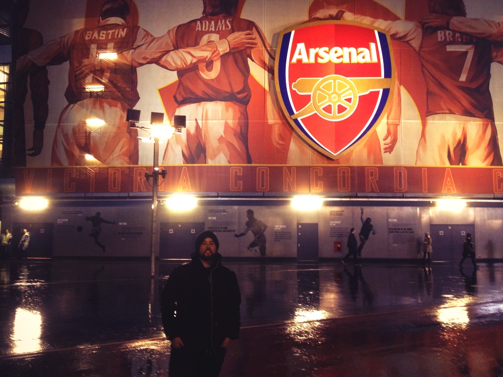 Blair at The Emirates