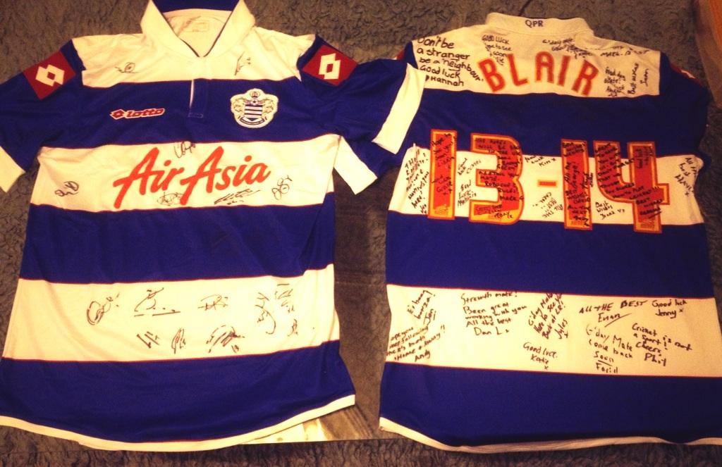 QPR jersey
