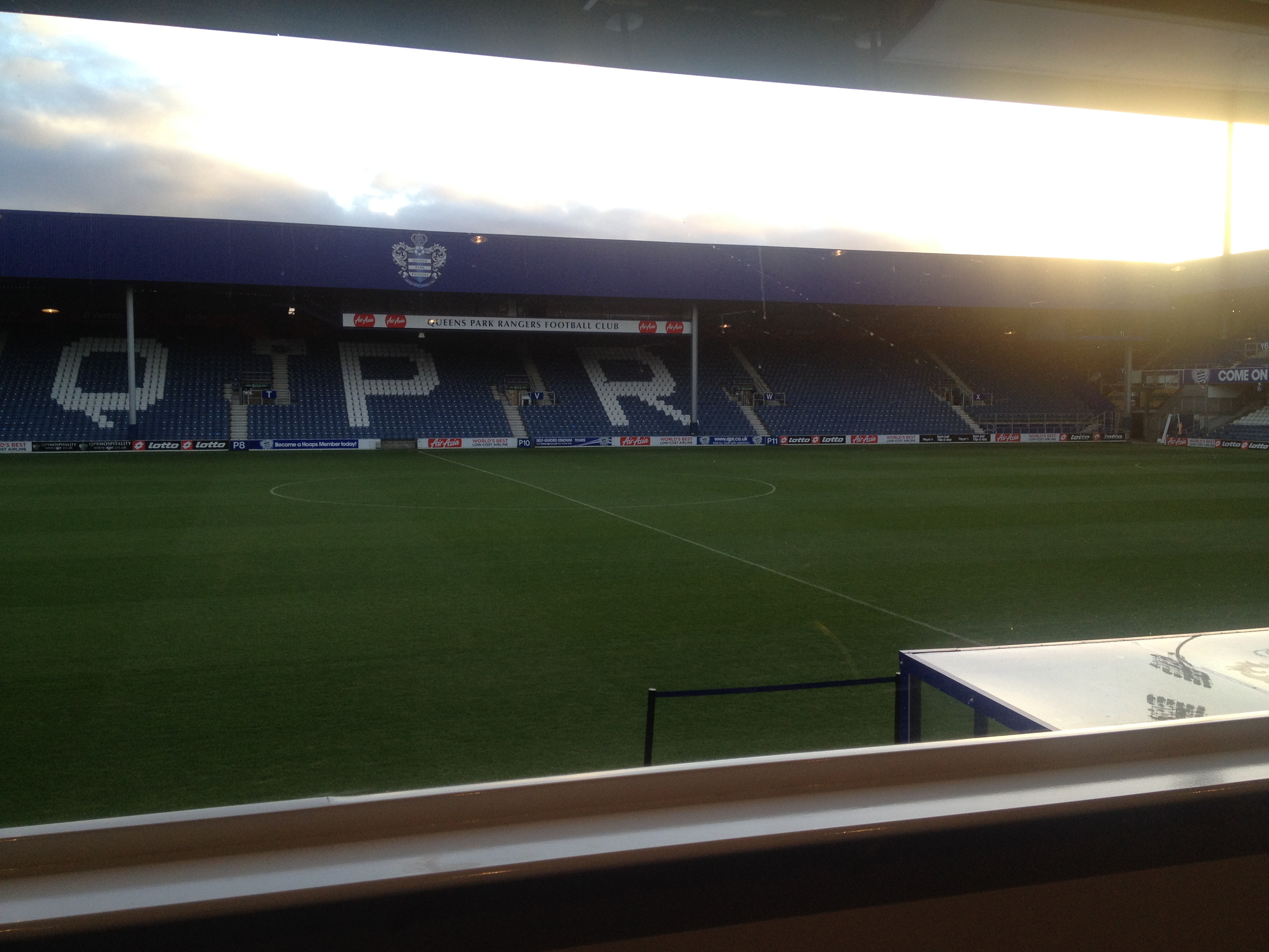 View of the pitch today