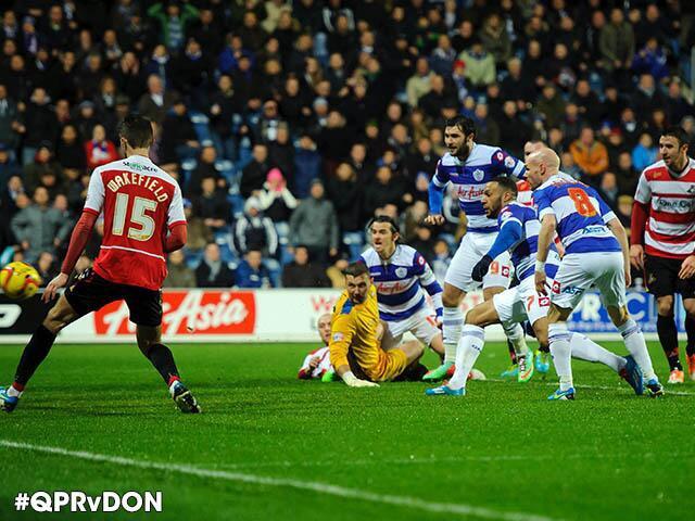 QPR scoring vs Doncaster