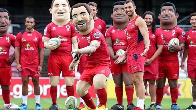 QLD Reds mascots