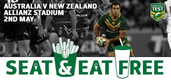 Seat and Eat at Allianz Stadium