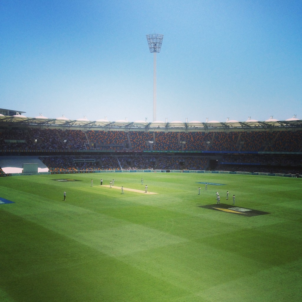 The Gabba: Second Test
