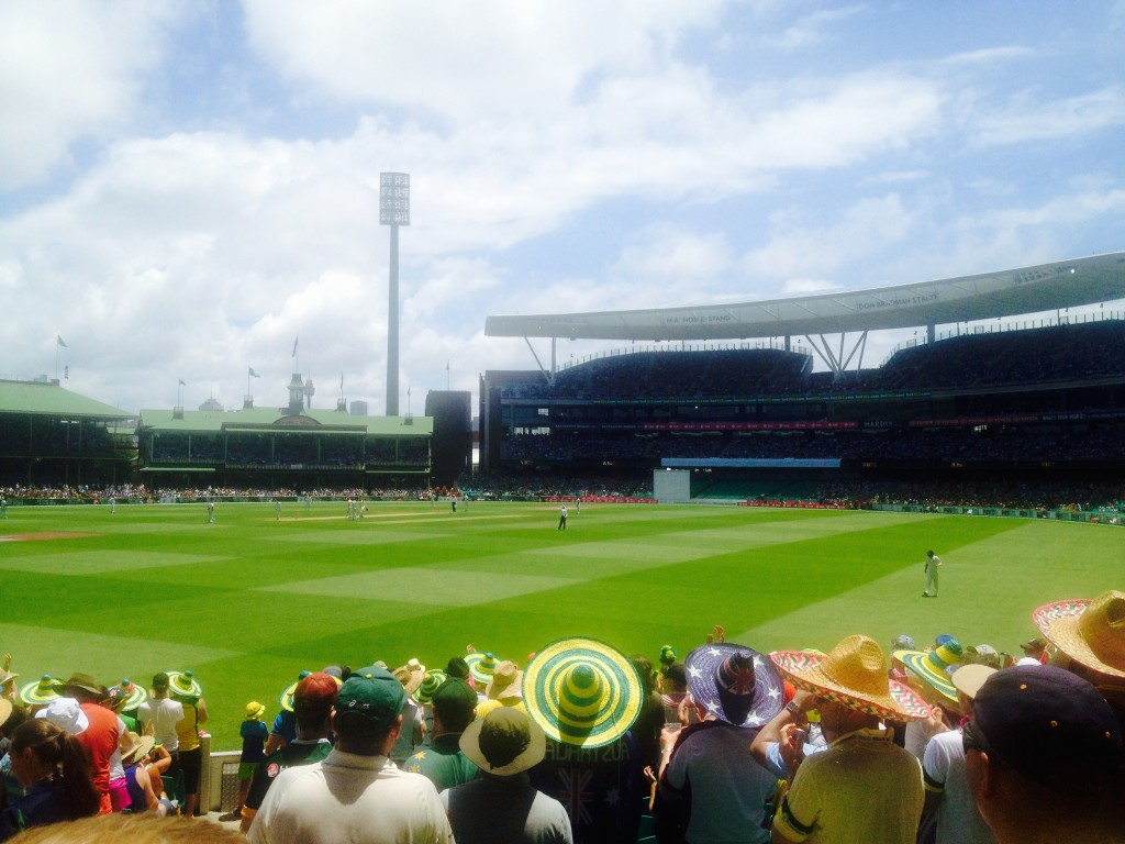Day One at the SCG