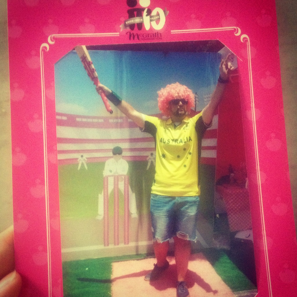 Pink Stumps Day McGrath Foundation at the SCG