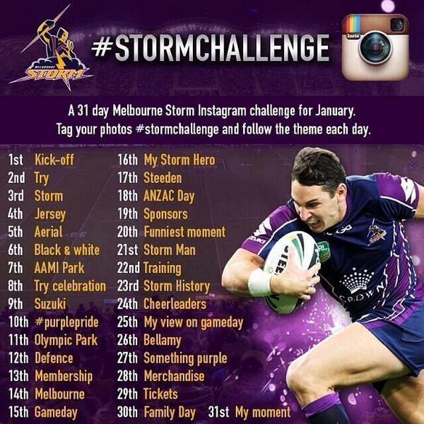 Storm Instagram Challenge