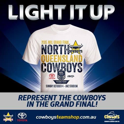 Cowboys NRLGF shirts