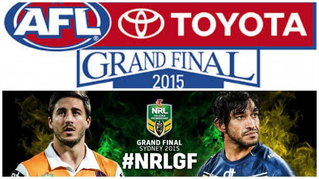 NRL & AFL Grand Final's 2015