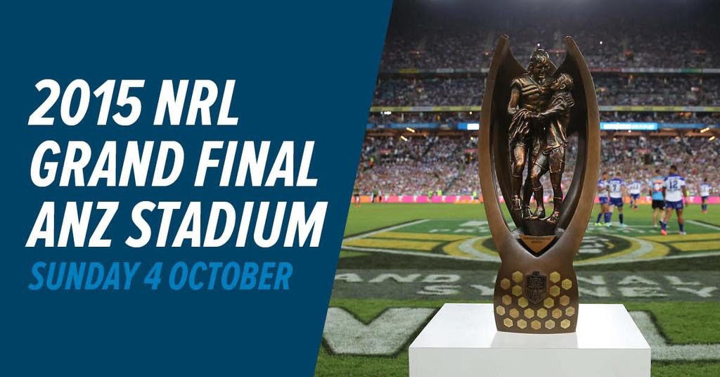 NRL GF ANZ Stadium