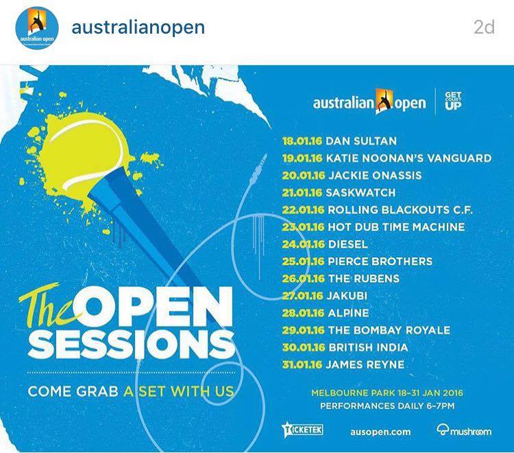 AUS Open 2016: The Open Sessions
