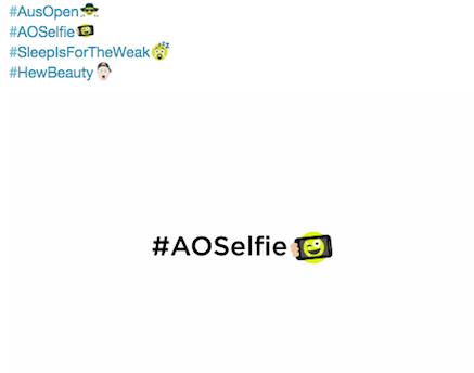 AUS OPEN 2016: Emoji's