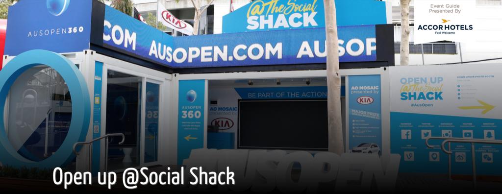 AUS OPEN 2016: AO Social Shack