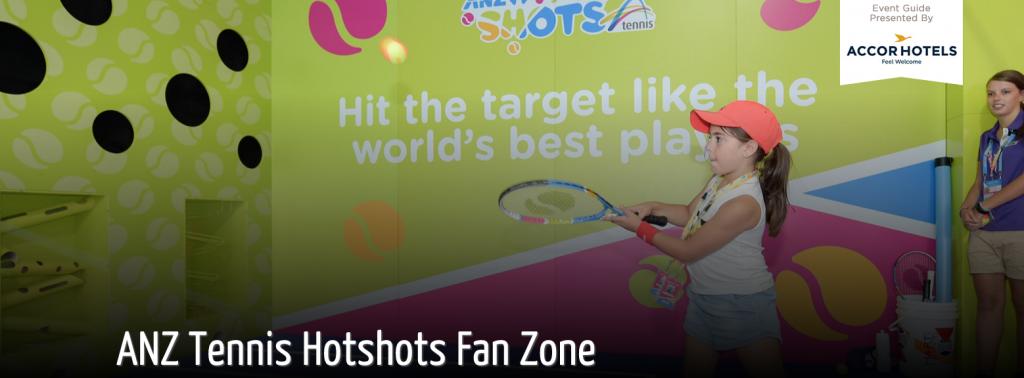 AUS OPEN 2016: HotShots Fan Zone