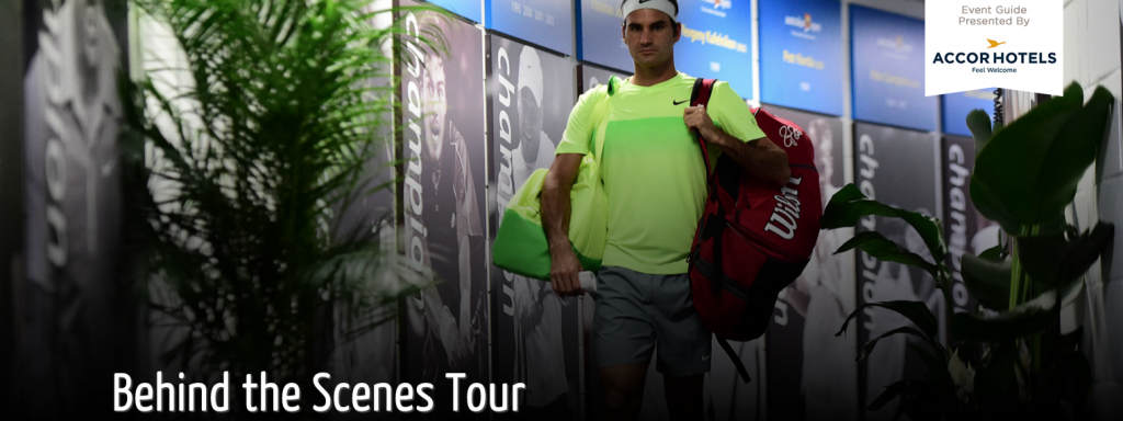 AUS OPEN 2016: Behind the scenes tours