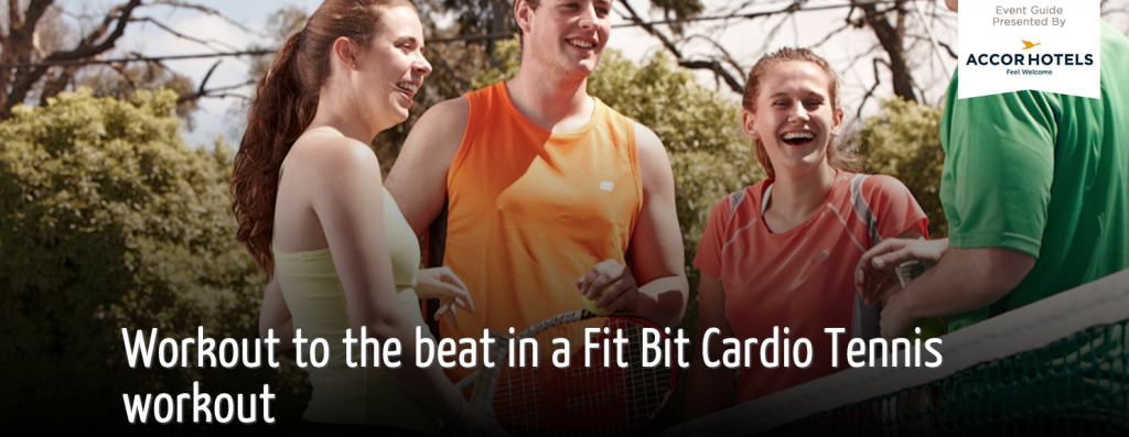 AUS OPEN 2016: FITBIT Cardio Tennis Workout
