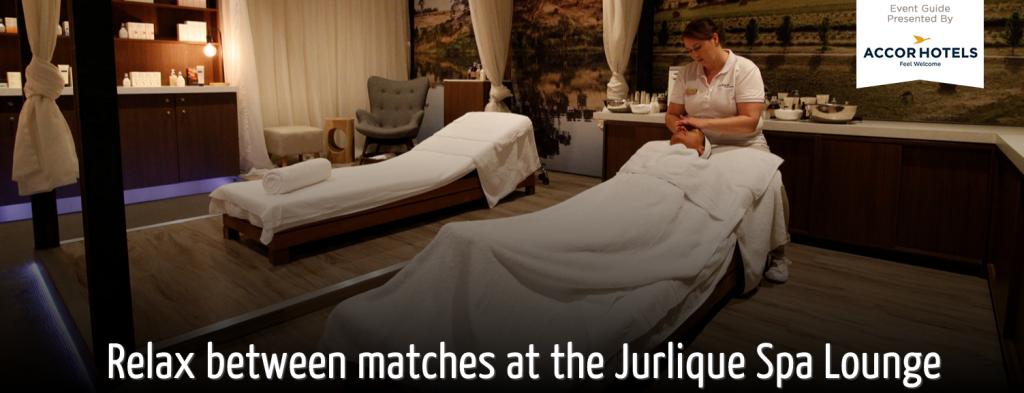 AUS OPEN 2016: Jurlique Spa Lounge
