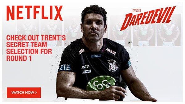 Barrett's Daredevil plans for round 1