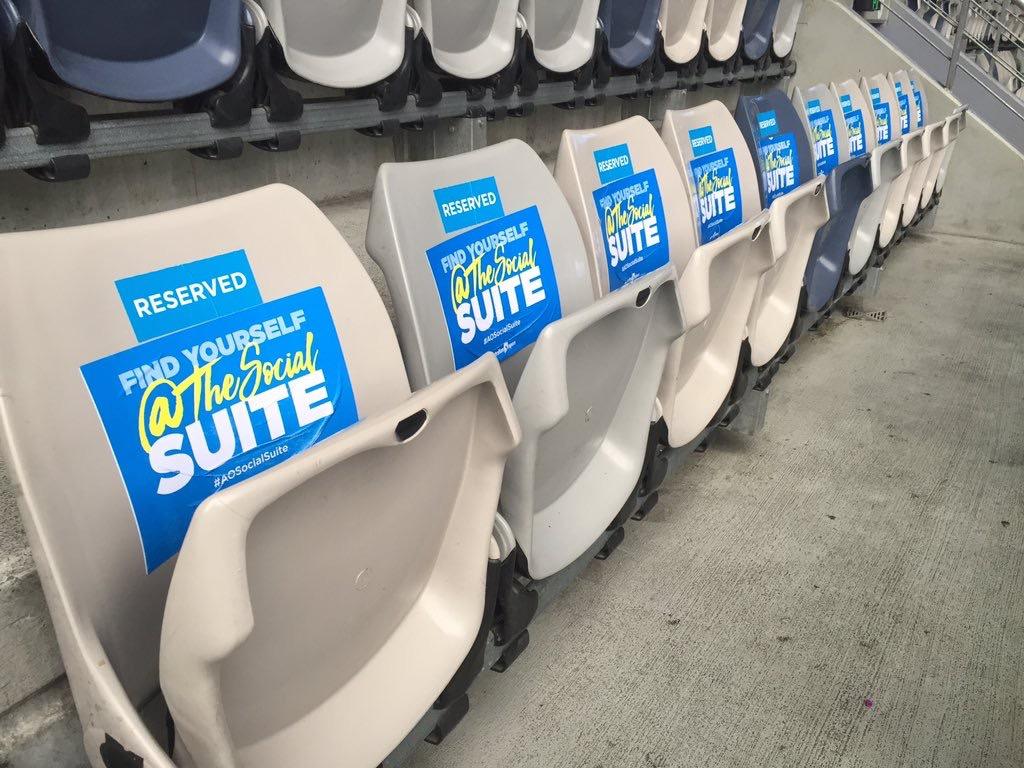 Aus Open 2016: Seat Upgrades
