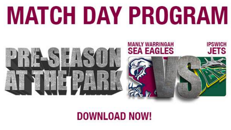 Manly Match Day Programs