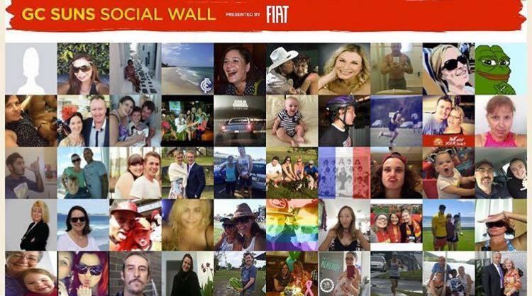 GC Suns Social Wall