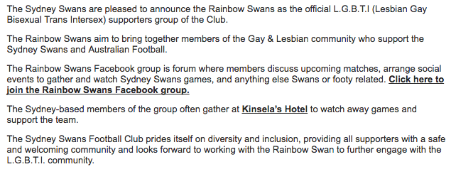 Rainbow Swans