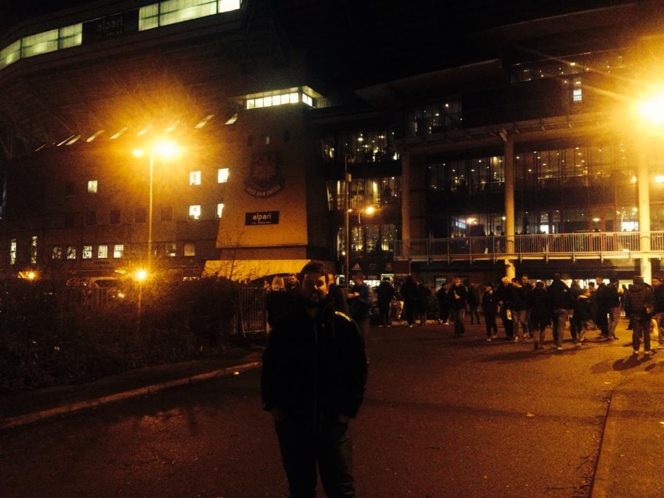 WHUFC vs Arsenal 2013