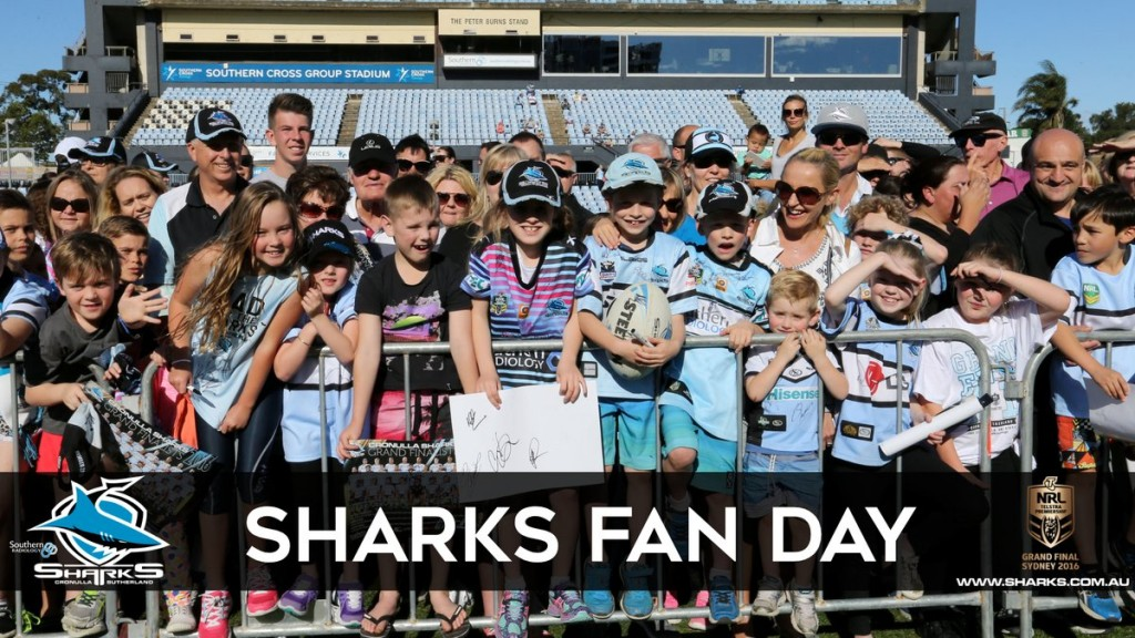 Sharks Fan Day