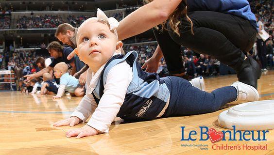 Memphis Grizzlies 'Diaper Derby'