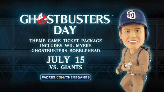 Padres MLB 'Ghostbuster's Day'