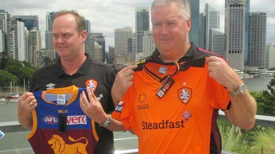 Brisbane Roar A-League and Brisbane Lions AFL