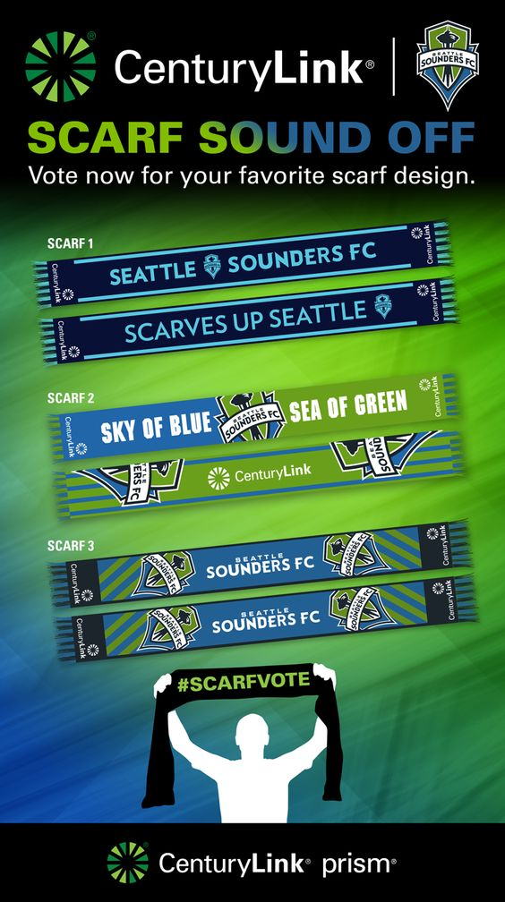 Sounders FC 'Scarf Sound Off'
