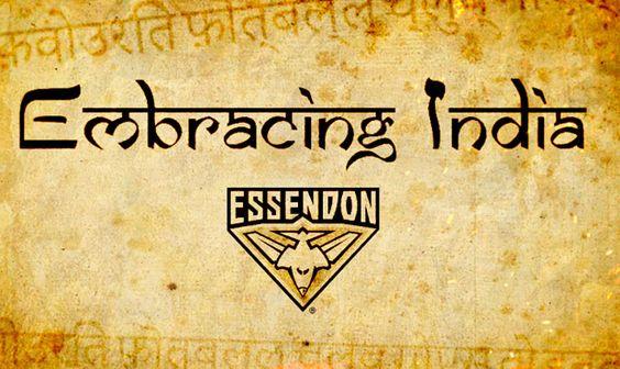 AFL Essendon's Embracing India Initiative