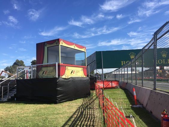 Royal Box at AUS GP F1
