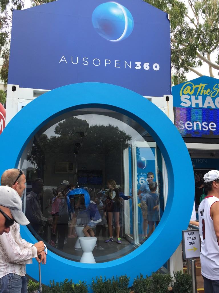 VR at Australian Open 2016