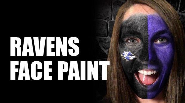 Baltimore Ravens AR Face Kit