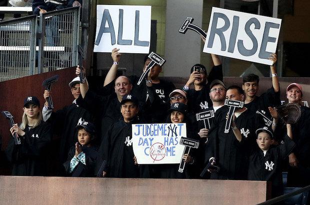 Judge's Chambers Yankee Stadium