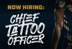 Philadelphia Union: Chief Tattoo Officer