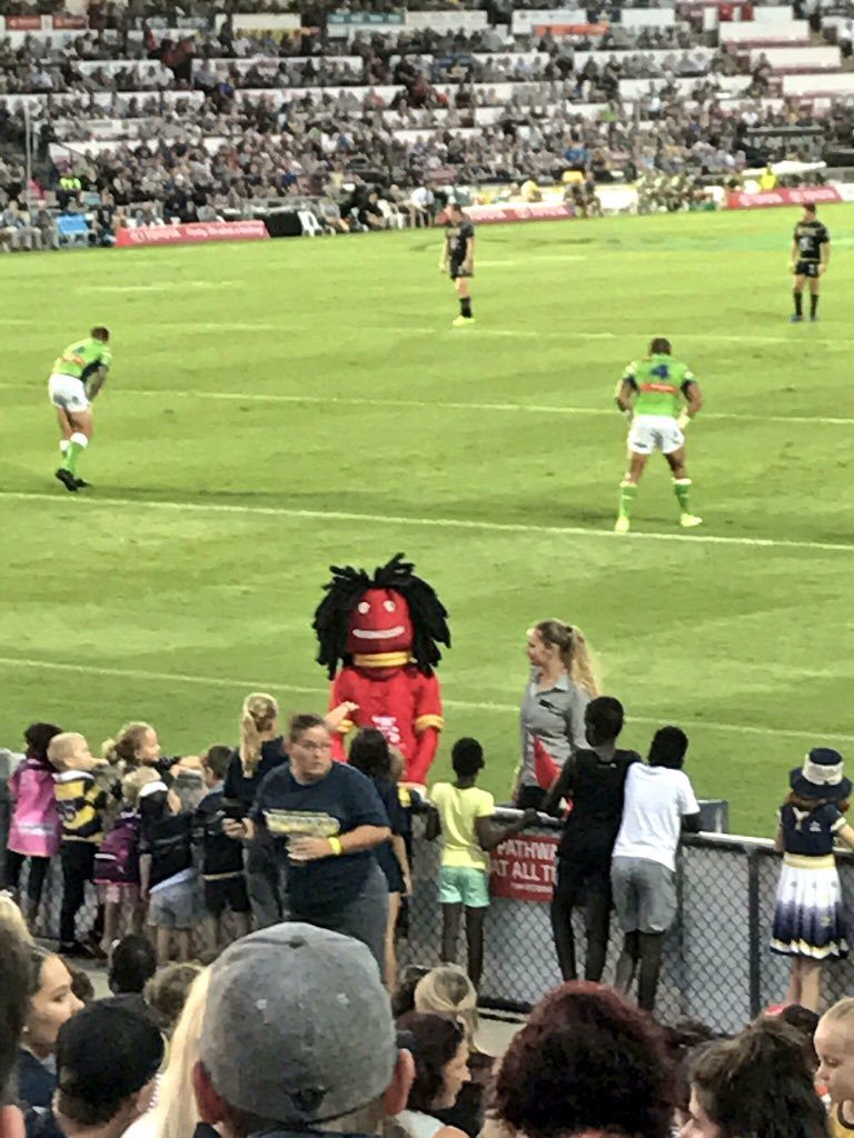 North Queensland Cowboys mascots