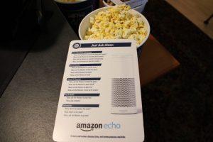Amazon Echo at Mariners