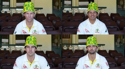 Cricket Australia KFC Buckethead Army