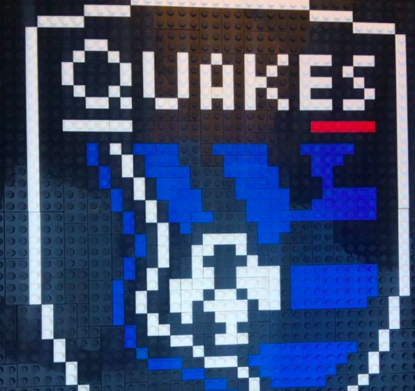 San Jose Earthquakes Lego Build